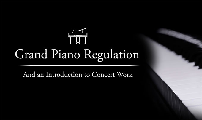 Grand Piano Regulation
